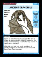 Ancient Draconius - Custom Card