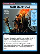 Agrit Staginsdar - Custom Card