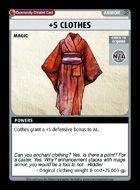 +5 Clothes - Custom Card