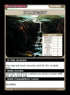 Escarpment - Custom Card