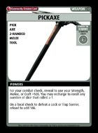 Pickaxe - Custom Card