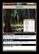 Woods - Custom Card