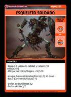 Esqueleto Soldado - Custom Card
