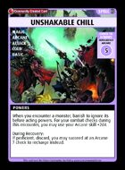 Unshakable Chill - Custom Card