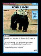 Honey Badger - Custom Card