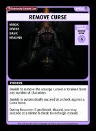 Remove Curse - Custom Card
