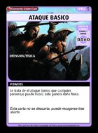 Ataque Basico - Custom Card