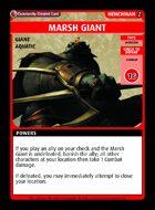 Marsh Giant - Custom Card