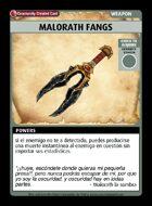 Malorath Fangs - Custom Card