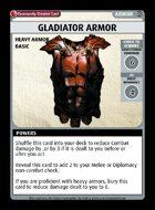 Gladiator Armor - Custom Card