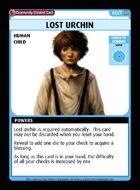 Lost Urchin - Custom Card