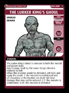 The Lurker King's Ghoul  - Custom Card