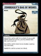 Zombeasly's Bag Of Wishes - Custom Card