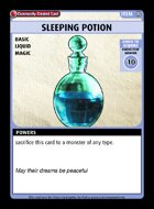 Sleeping Potion - Custom Card