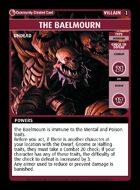 The Baelmourn - Custom Card