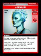 Aerngun - Custom Card