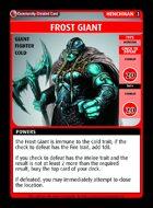 Frost Giant - Custom Card