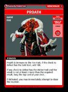 Proath - Custom Card