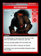 Wickerman - Custom Card