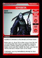 Xoyebeta - Custom Card