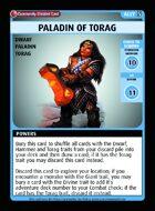Paladin Of Torag - Custom Card