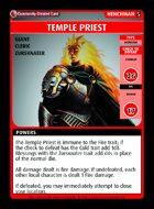 Temple Priest - Custom Card