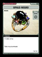 Opalo Negro - Custom Card