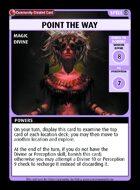 Point The Way - Custom Card