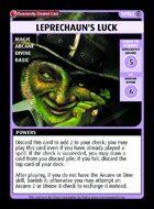 Leprechaun's Luck - Custom Card