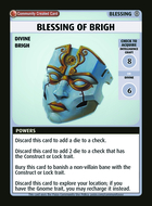 Blessing Of Brigh - Custom Card