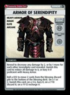 Armor Of Serendipity - Custom Card