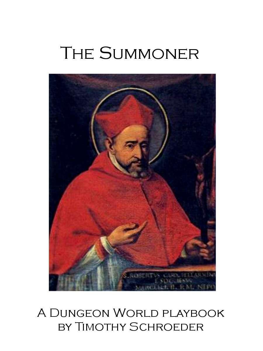 The Summoner- A Dungeon World Playbook - Timothy Schroeder |  DriveThruRPG com