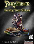 Ponyfinder - Earning your Stripes