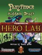 Ponyfinder - 5E Hidden Draft Extension
