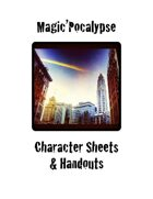 Magic'Pocalypse Character Sheets and Handouts