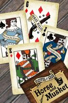 Fistful of Lead: Horse & Musket Custom Card Deck