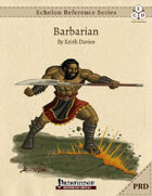 Echelon Reference Series: Barbarians (PRD Only)