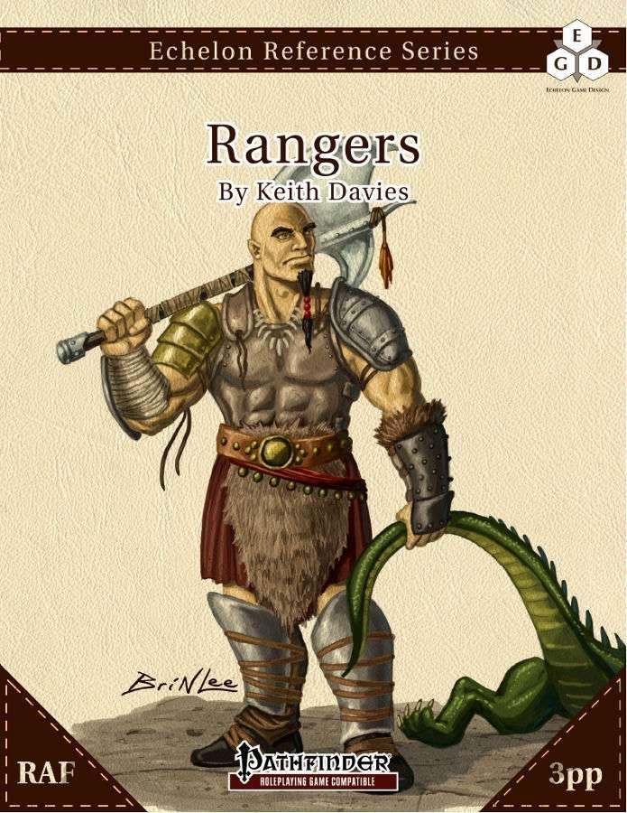 Echelon Reference Series: Rangers (3pp+PRD) - Echelon Game Design | Echelon  Reference Series: CLASSES | Wargame Vault