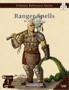 Echelon Reference Series: Ranger Spells I (3pp+PRD)