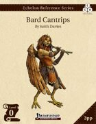 Echelon Reference Series: Bard Cantrips (3pp+PRD)
