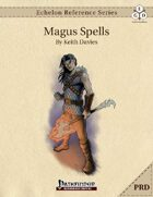 Echelon Reference Series: Magus Spells Compiled (PRD-Only)