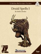 Echelon Reference Series: Druid Spells I (3pp+PRD)