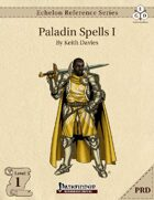 Echelon Reference Series: Paladin Spells I (PRD-Only)