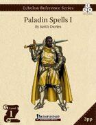 Echelon Reference Series: Paladin Spells I (3pp+PRD)