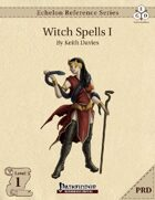 Echelon Reference Series: Witch Spells I (PRD-Only)