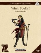Echelon Reference Series: Witch Spells I (3pp+PRD)
