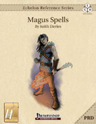 Echelon Reference Series: Magus Spells Compiled (PRD-Only) [BUNDLE]