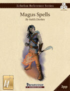 Echelon Reference Series: Magus Spells Compiled (3pp+PRD) [BUNDLE]
