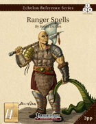 Echelon Reference Series: Ranger Spells Compiled (3pp+PRD) [BUNDLE]