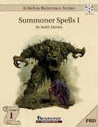 Echelon Reference Series: Summoner Spells I (PRD-Only)